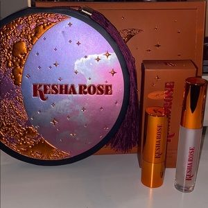 Kesha Rose FTW Palette & Lipstick+Gloss Duo